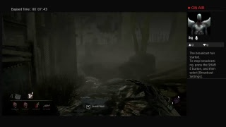 PS4 game play,Dead By Daylight, 8/15/2018
