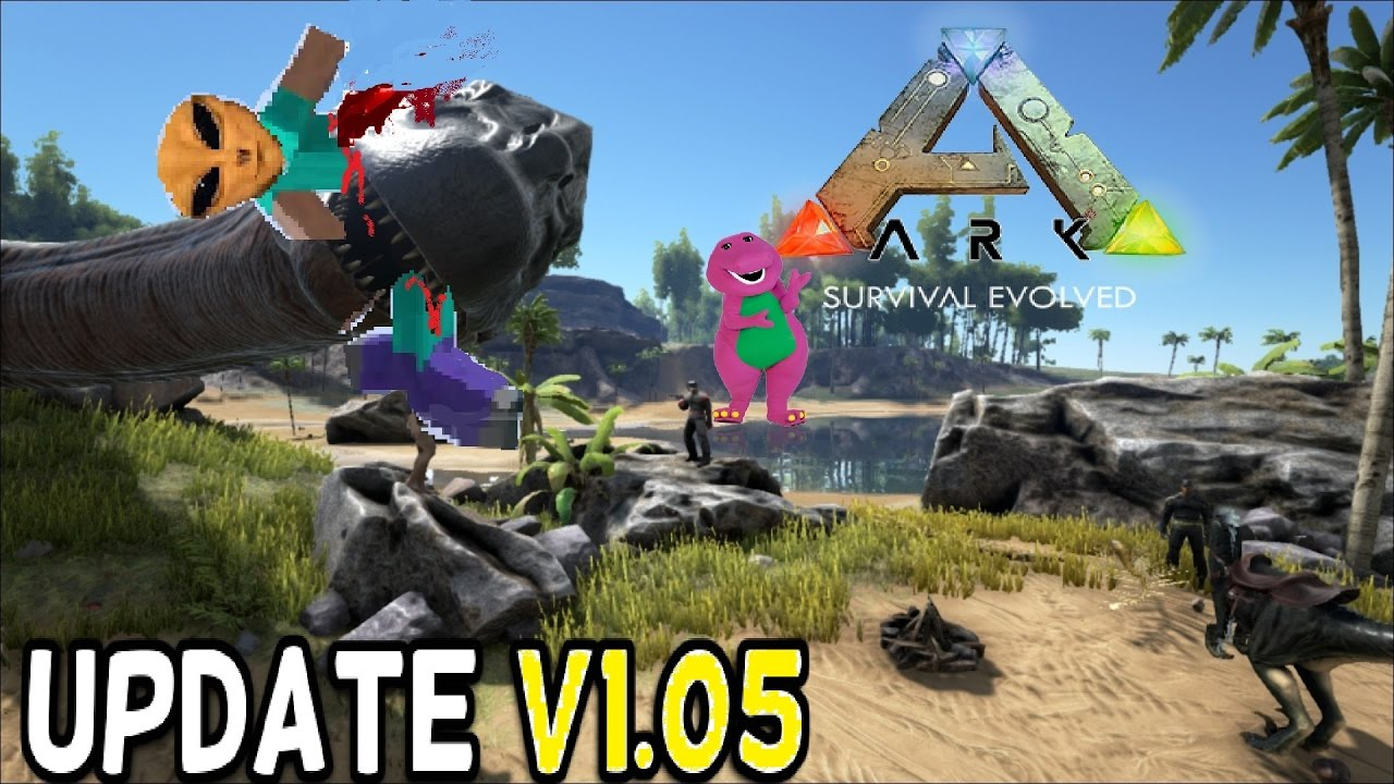 Ark survival evolved patch notes - Ark Survival Evolved V1 05 Out Now Ps4 Pro Patch Note