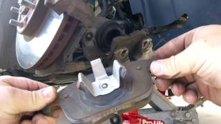 2014 Ford Fusion Front Brake Pad Change