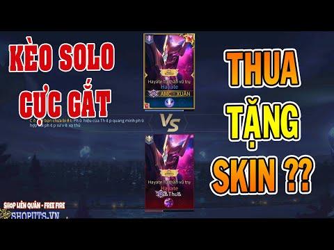 UTS Channels   Kèo Solo Giữa 2 Hayate Tử Thần Vũ Trụ Trị Giá 99 Quân Huy ?   Skin Cực Đẹp