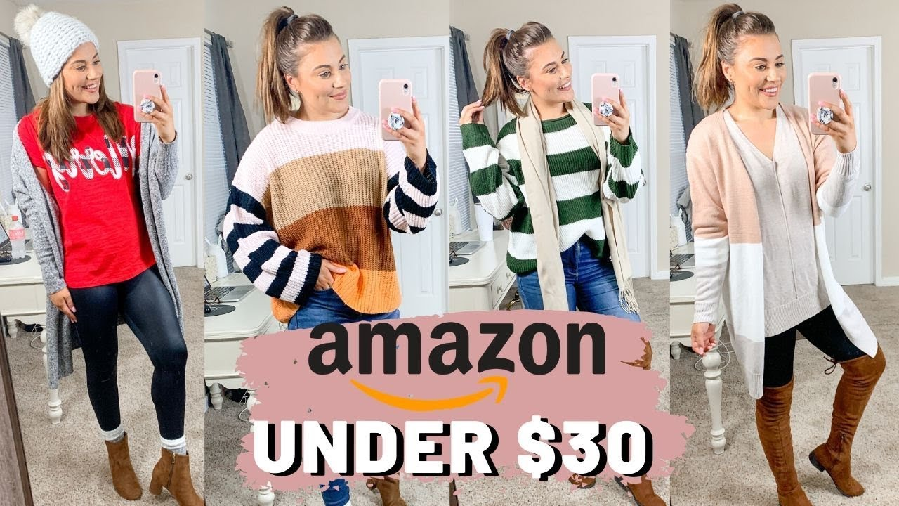 [VIDEO] - HUGE FALL/WINTER AMAZON TRY ON CLOTHING HAUL 2019 3