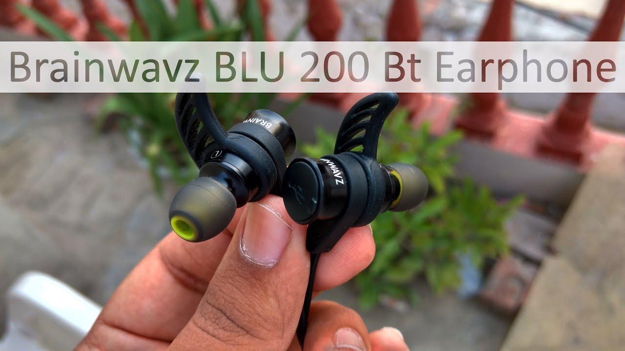 Brainwavz Blu 200 Bluetooth Earphones Best For The Price Youtube