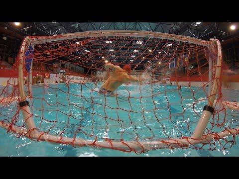 Ūdenspolo Latvijā, Water Polo in Latvia (HD)