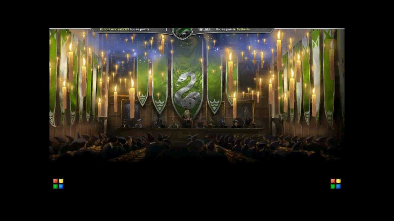 Slytherin wins pottermore house cup youtube