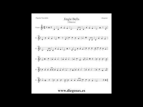 Jingle Bells Sheet Music Flute Trumpet Alto Sax Clarinet Violin Trombone... Christmas Carol