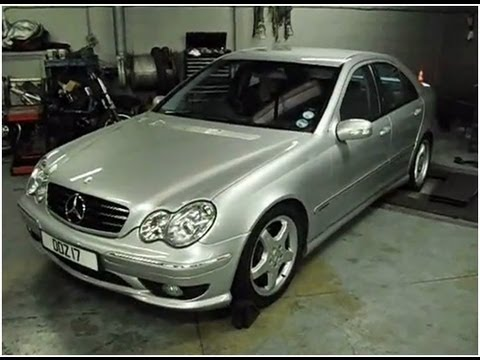 Mercedes C Class With Ecu Remap Before After Youtube