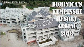 DOMINICA Cabrits Kempinski NEW RESORT 2018 - AERIAL DOMINICA