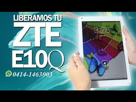 get como liberar tablet zte e10q still works