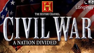 PS2 - The History Channel: Civil War – A Nation Divided - LongPlay [4K:60FPS]🔴