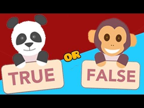 True or False - Cute Animal Trivia Action! 8 Sided Pyramid??? (Trivia Game) - True or False Game