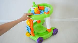 Каталка ходунки с конструктором обзор игрушки