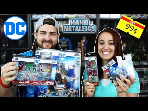 DC Comics Nano Metal Figs and Batcave Diorama! - Inexpensive Collectibles