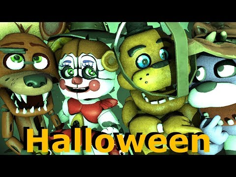 Baby Foxy Halloween - Too Spooked For Trick Or Treating FNAF SFM Animation