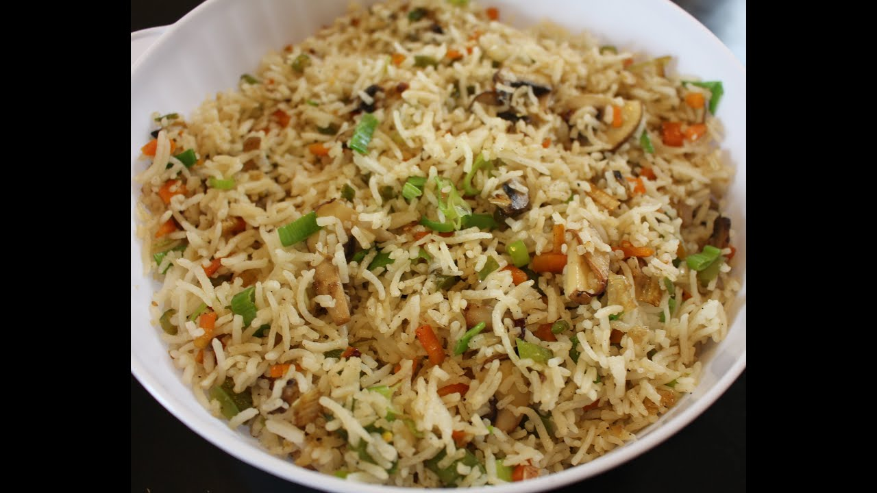Vegetable fried rice recipe how to make perfect veg fried rice vegetable fried rice recipe how to make perfect veg fried rice easy vegetable fried rice recipe youtube ccuart Images