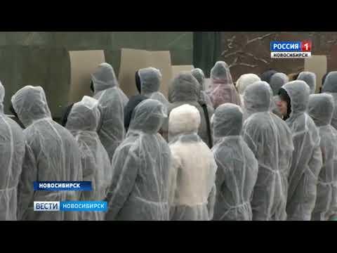В центре Новосибирска проходит масштабная акция в память о жертвах ДТП