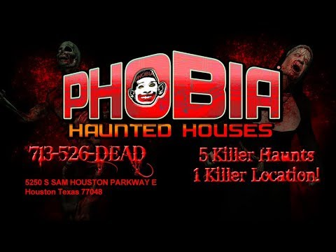 Best Haunted House In Houston Texas Phobia Houses 713 526 3323