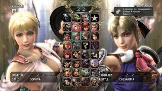 Soulcalibur IV [PS3]: Friendly Online Player Matches with Kili Lili 615 (12/19/17)
