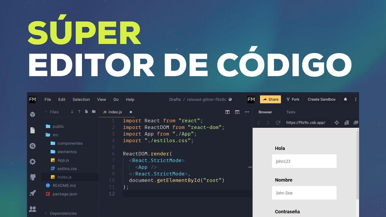 El Súper Editor de Código en la Nube (que todos deberían conocer!)