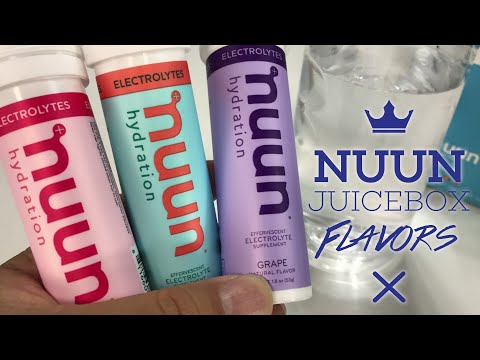 Nuun Hydration Mixed Juicebox Flavor Electrolyte Drink Tablets Review