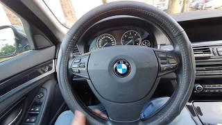 BMW f10. Первое мое ТО. Замена ЕГР. Цены на обслуживание.