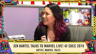 Artist Jen Bartel answers YOUR questions LIVE from SDCC 2019!