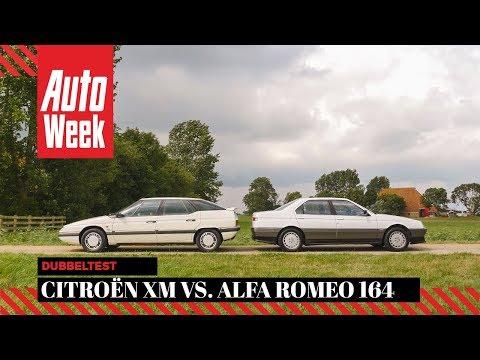 Citroën XM Vs. Alfa Romeo 164 - Classics Dubbeltest