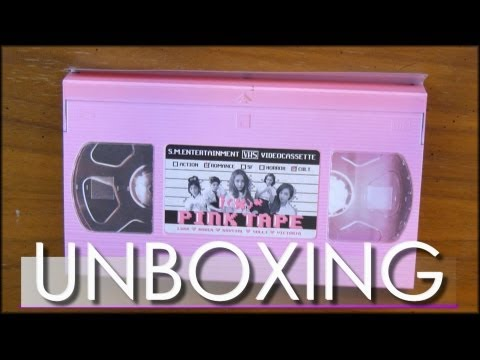 Unboxing - PINK TAPE - f(x)