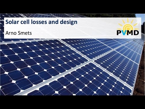 Solar cell losses and design