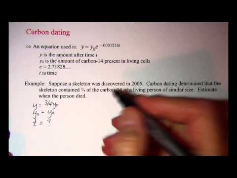 is radiocarbon dating relative or absolute