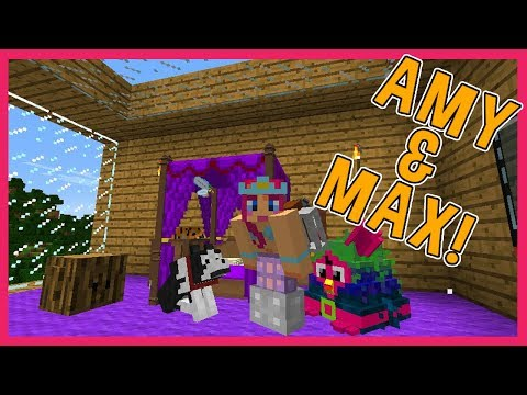 Amy & Max! Ep.6 MY NEW BEDROOM! | Minecraft | Amy Lee33
