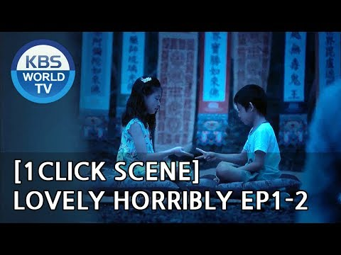 The BEGINNING of Song Jihyo and Park Si Hoo's tragic fate [1Click Scene / Lovely Horribly Ep.1-2]