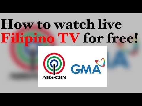 How To Watch Live Filipino TV For Free!