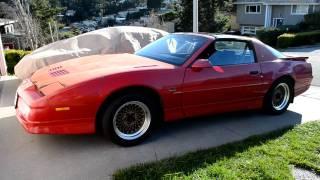 1987 Pontiac Trans Am GTA 5.7L V8 Cold Start