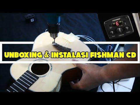 UNBOXING & INSTALASI FISHMAN CD ONBOARD PADA UKULELE