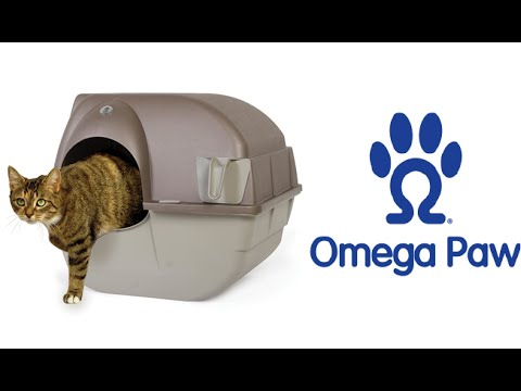 Omega Paw Self-Cleaning Litter Box How to Use