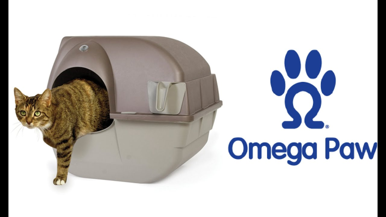 omega paw litter box how to use