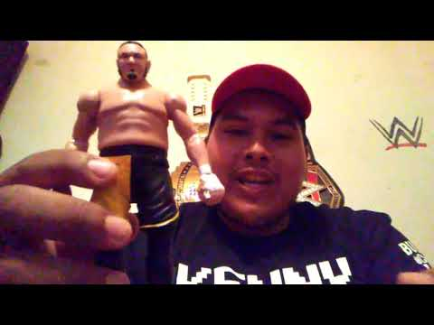 WWE Samoa Joe and Braun Strowman action figures
