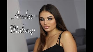 ARABIC MAKEUP TUTO AVEC FIDA BEAUTY-  مكياج عربي رائع على فتاة فرنسية
