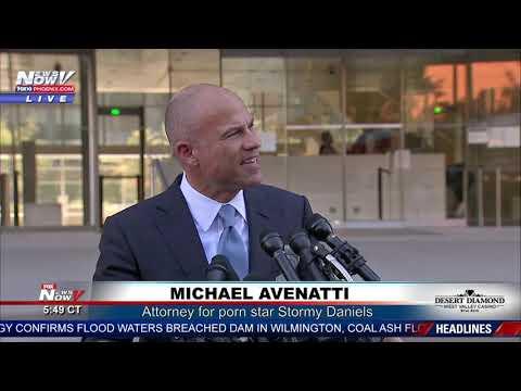 BREAKING: Michael Avenatti Says His Client Can Sink Judge Brett Kavanaugh