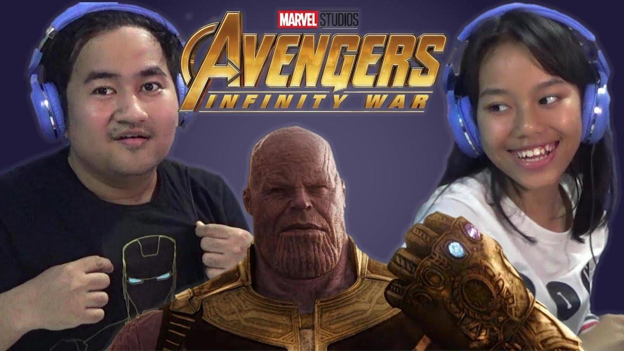 irone family react to avengers: infinity war trailer - indonesia