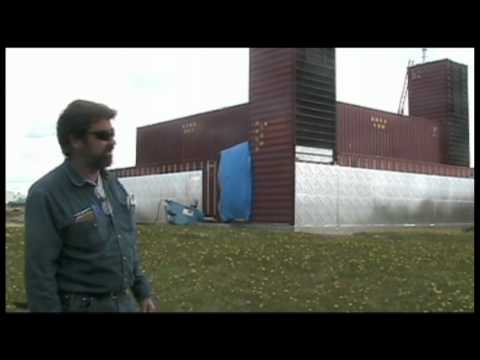 Part 2 Man Building Amazing Home With Shipping Containers