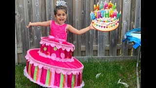 Sally Play Birthday Cake Party dress up for girls