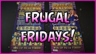FRUGAL FRIDAYS 2 10 Wheel of Fortune - Florida Lottery Scratchers