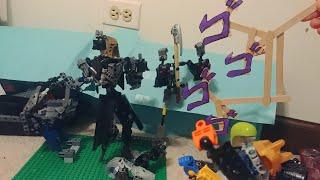 Bionicle Anime Battle! Intense 13+ Satire Comedy jjba Funny
