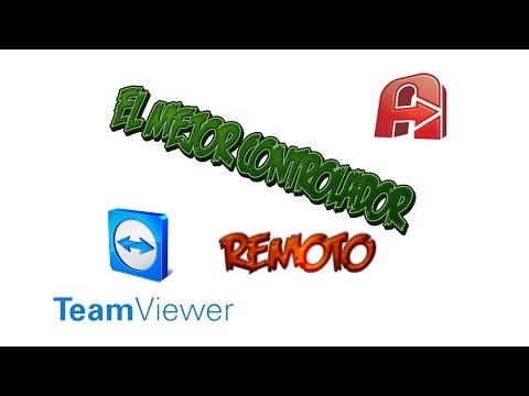 descargar el mejor controlador remoto mejor que el teamviewer full desde mega