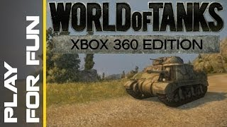 World of Tanks Xbox 360 - Play for Fun