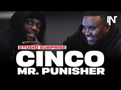 Youtube: Cinco & Mr. Punisher | Studio Surprise #1