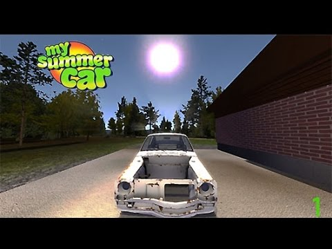 my summer car ep 1 montando o interior youtube. Black Bedroom Furniture Sets. Home Design Ideas