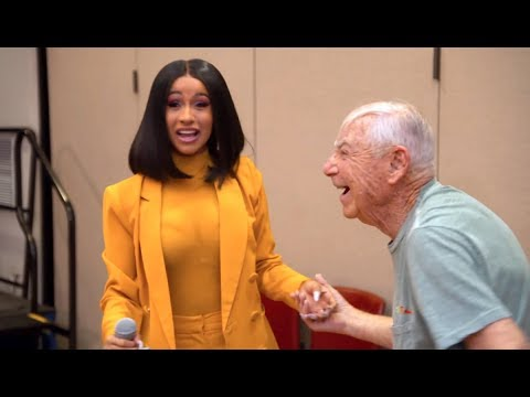 Cardi B Performs at Senior Center During Carpool Karaoke — and Gets Asked Out on a Date! - News toda Mp3
