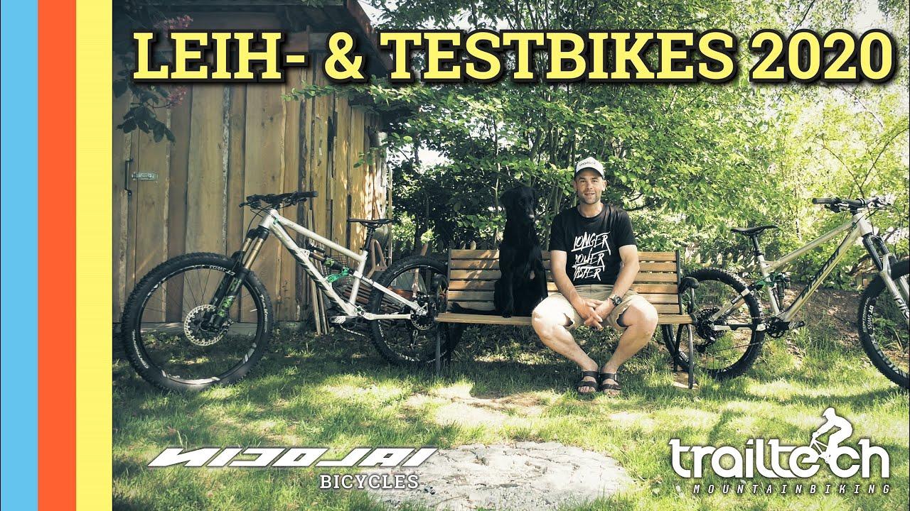 Leihbikes 2020 - Teste unsere HIGHEND Enduro - & Trailbike Flotte